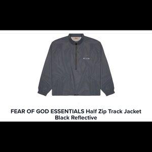 Fear of God Essential Quarter Zip Up Jacket
